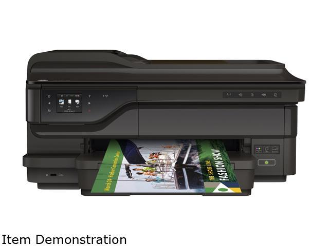HP Officejet 7612 Up To 33 Ppm Black Print Speed 4800 X 1200 Dpi Color
