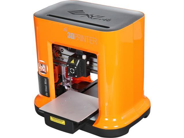 Open Box: XYZprinting da Vinci Mini FFF (Fused Filament Fabrication) Jr  &  Mini series PLA Single Nozzle 3D Printers - Newegg com