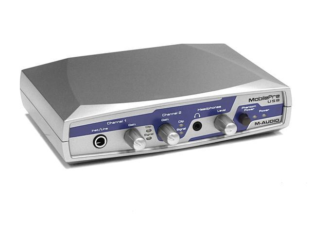 Musical Instruments & Gear M Audio Mobilepre Digital Audio Interface The Latest Fashion