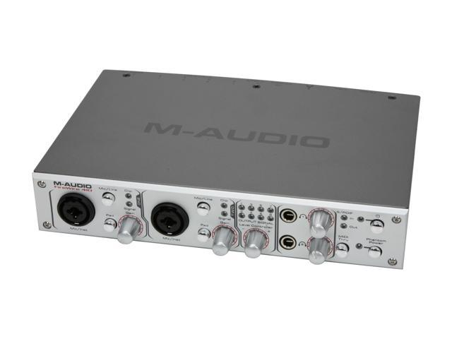 m audio firewire 410 4 in 10 out mobile recording interface. Black Bedroom Furniture Sets. Home Design Ideas