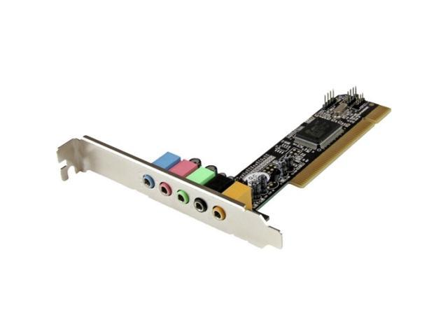StarTech.com 5.1 Channel PCI Surround Sound Card Adapter