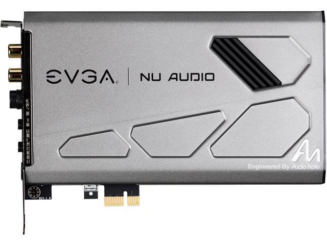 EVGA NU Audio Card, 712-P1-AN01-KR, Lifelike Audio, PCIe, RGB LED, Designed  with Audio Note (UK) - Newegg com
