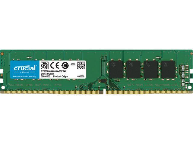 Crucial 16gb 288 Pin Ddr4 Sdram Ddr4 2400 Pc4 19200 Desktop Memory