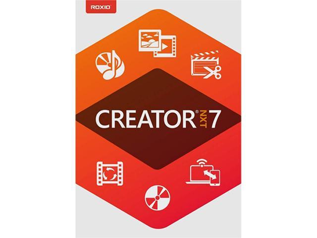 Corel CREATOR NXT 7 ML MINI-BOX - CD/DVD Burning and Creativity Suite for PC