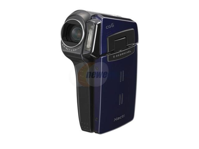 sanyo vpc cg6 dark blue flash memory digital movie camera camcorder rh newegg com Sanyo Xacti CG10 Sanyo Xacti CG10 Manual