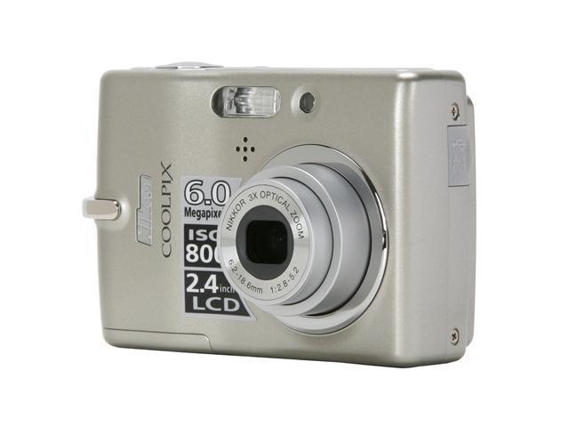 nikon coolpix l11 gray 6 0 mp 3x optical zoom digital camera rh newegg com Nikon Coolpix L11 Turnaround Manual for Nikon Coolpix L11 Digital Camera