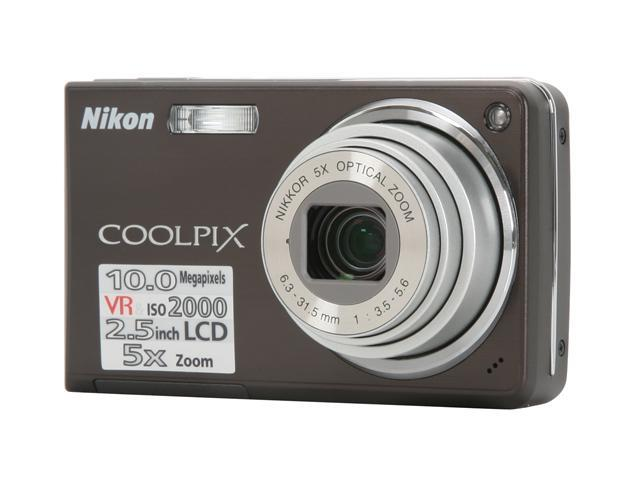 nikon coolpix s550 black 10 0 mp 5x optical zoom digital camera rh newegg com nikon coolpix s550 user manual pdf Nikon Coolpix Owners Manual 2000