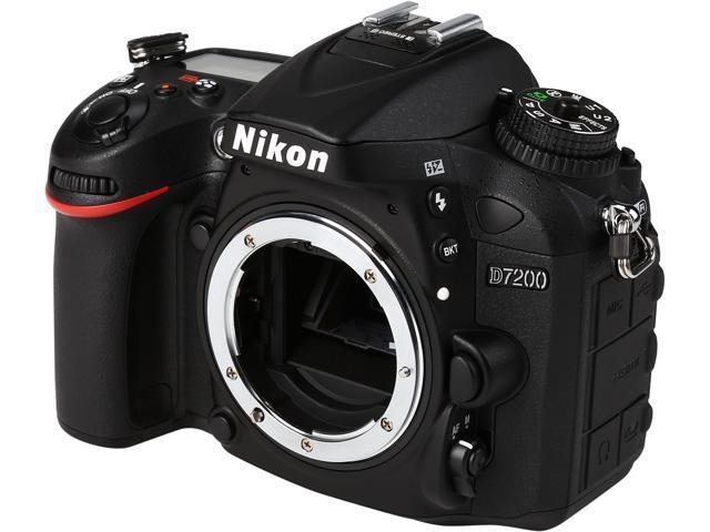Nikon D7200 Body Only Digital SLR Cameras