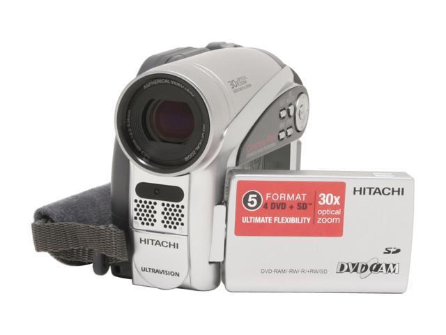 hitachi dz gx5020a 1 6 ccd 2 7 16 9 widescreen lcd 30x optical rh newegg com Hitachi TV Service Manual hitachi dvd cam dz-gx5020a user manual