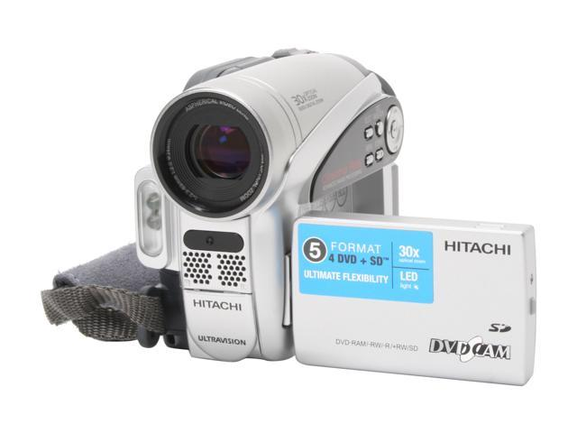 hitachi dz gx5080a silver 1 6 ccd 2 7 16 9 lcd lcd 30x optical rh newegg com Sony STR De475 Manual Hitachi StarBoard Manual