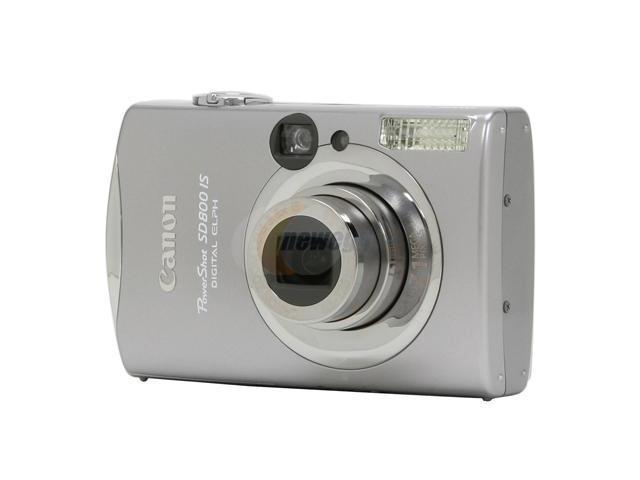 canon powershot sd800 is silver 7 1 mp 3 8x optical zoom 28mm wide rh newegg com Canon PowerShot Manual PDF Canon PowerShot Manual Controls