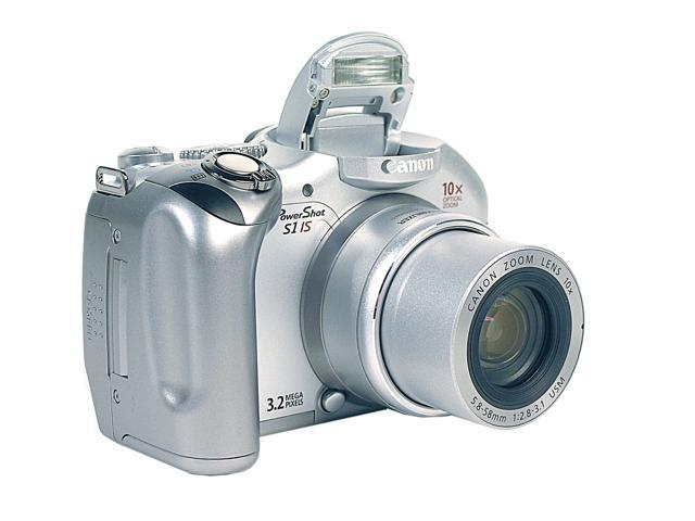 Canon PowerShot S1 IS Silver 32MP 10X Optical Zoom Digital Camera
