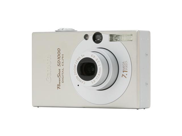 canon powershot sd1000 silver 7 1 mp 3x optical zoom digital camera rh newegg com canon powershot sd1000 user manual pdf Canon PowerShot SD Underwater