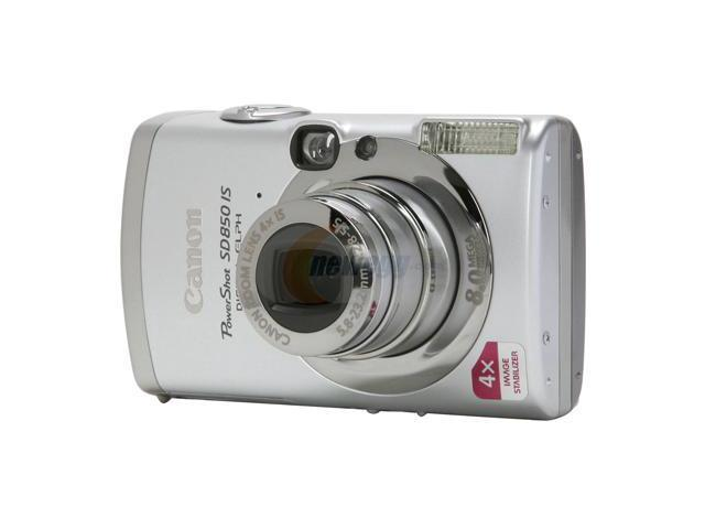 canon powershot sd850 is silver 8 0 mp 4x optical zoom digital rh newegg com Canon T2i Manual Canon Owner's Manual