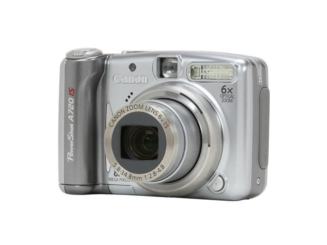 canon powershot a720 is silver 8 0 mp 6x optical zoom digital camera rh newegg com Canon PowerShot A810 Canon PowerShot A560