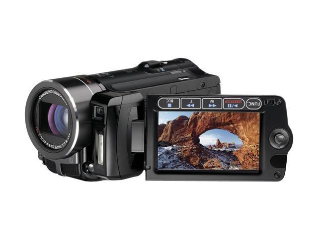 canon vixia hf10 black 1 3 2 cmos sensor 2 7 211k lcd 12x optical rh newegg com Canon VIXIA HF R500 canon hf10 instruction manual