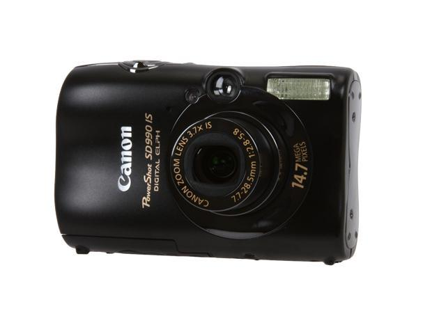 canon powershot sd990 is black 14 7 mp 3 7x optical zoom digital rh newegg com Canon PowerShot User Manual Canon PowerShot Camera Manual