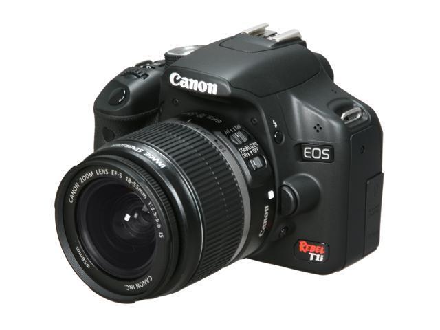 canon eos rebel t1i black 15 1 mp digital slr camera w ef s 18 55mm rh newegg com canon rebel t1i manual pdf Canon Rebel T3i