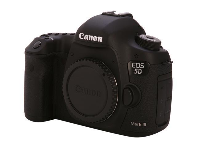 Canon Eos 5d Mark Iii 5260b002 Black Digital Slr Camera Body Only Newegg Com