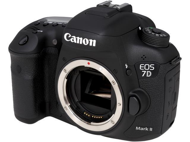 Canon EOS 7D MARK II 9128B002 Black Digital SLR Camera - Body - Newegg com