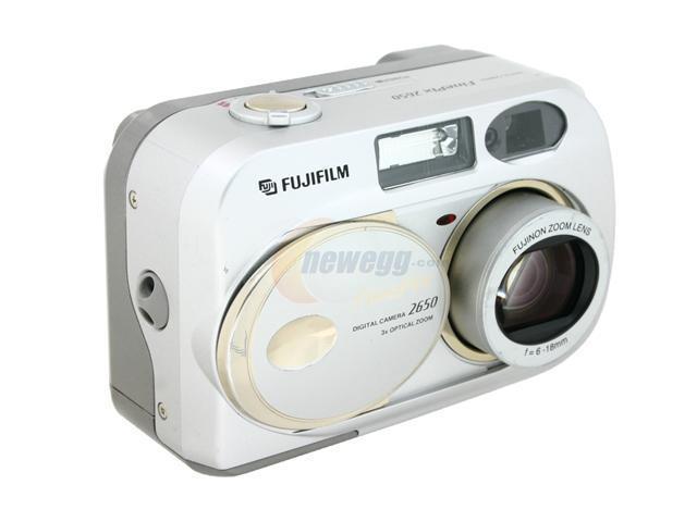 fujifilm finepix 2650 silver 2 0 mp 3x optical zoom digital camera rh newegg com Fuji FinePix 2650 Digital Camera FinePix 2650 Software