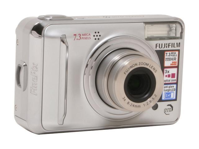 fujifilm finepix a700 silver 7 3 mp 3x optical zoom digital camera rh newegg com