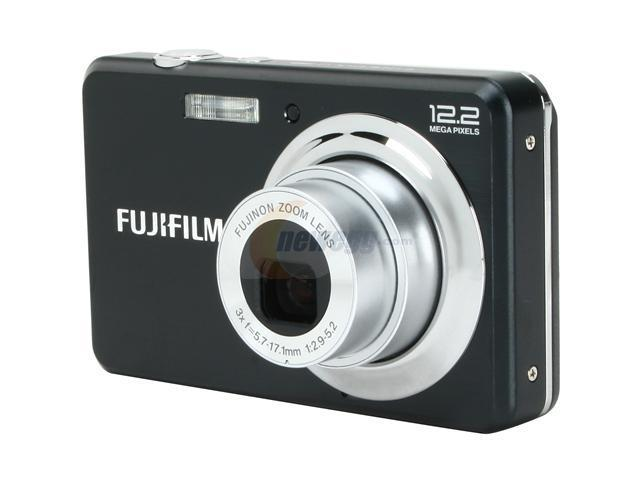 fujifilm finepix j38 black 12 2 mp 3x optical zoom digital camera rh newegg com Mac Cube Manual Fujifilm SD Card