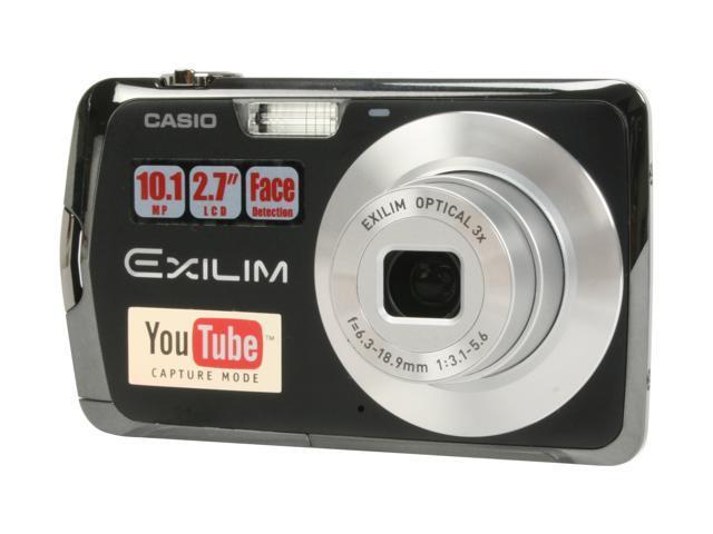 casio exilim ex s5 black 10 1 mp 3x optical zoom digital camera rh newegg com Casio Exilim User Manual casio exilim ex s5 digital camera manual