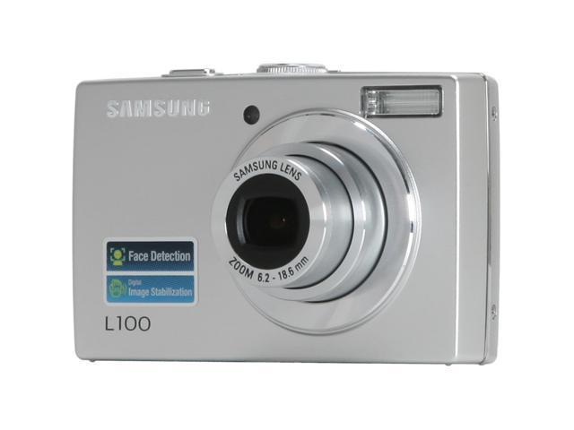 samsung l100 silver 8 2 mp 3x optical zoom digital camera newegg ca rh newegg ca samsung l100 user manual Samsung L100 Camera Ports