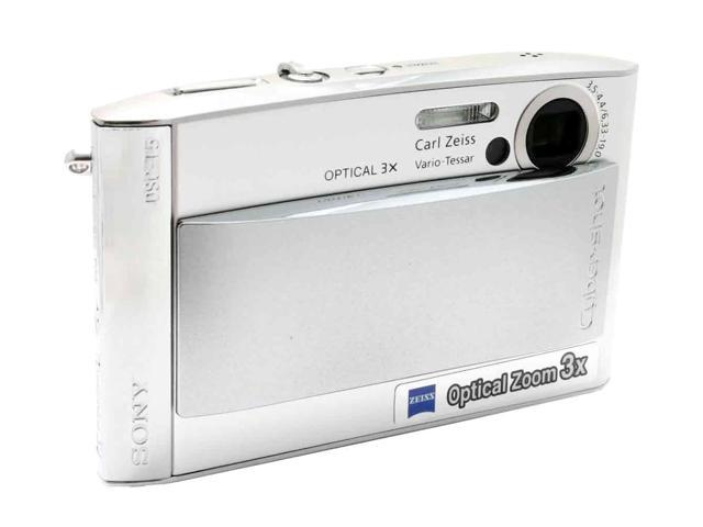 SONY DSC-T5 Silver 5.1MP 3X Optical Zoom Digital Camera