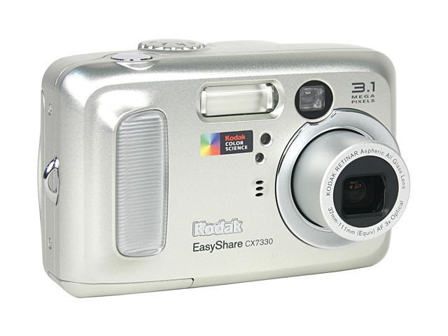 kodak easyshare cx7330 silver 3 1mp 3x optical zoom digital camera rh newegg com Kodak EasyShare Models 800 Kodak EasyShare Z1012 Is