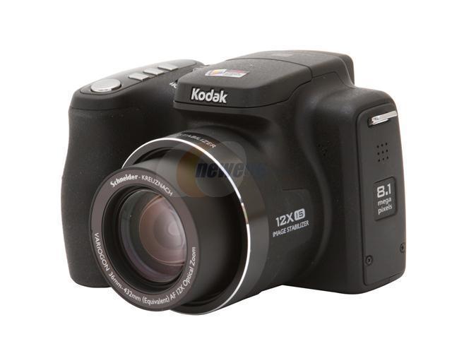 kodak easyshare z812 is black 8 2 mp 2 5 230k lcd 12x optical zoom rh newegg com Kodak Z812 IS Accessories Kodak EasyShare C813