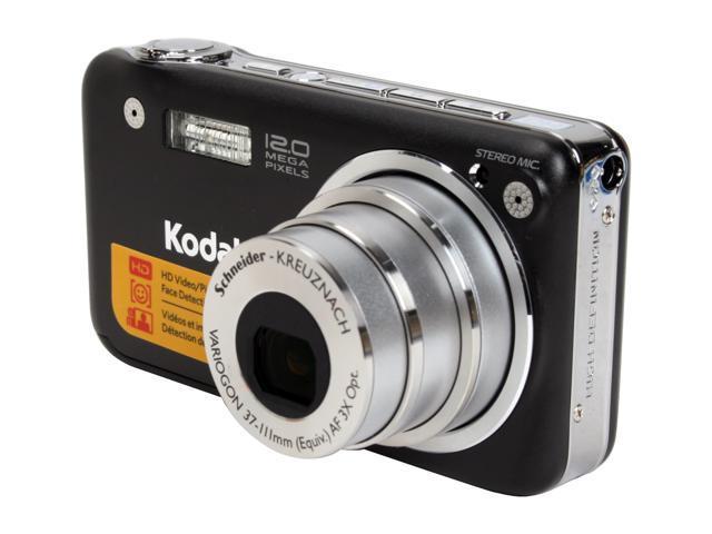 kodak easyshare v1253 black 12 1 mp 3x optical zoom digital camera rh newegg com  Kodak EasyShare C713