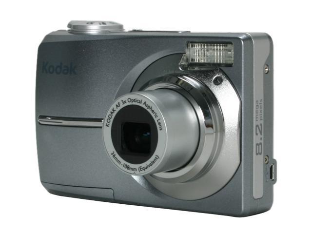 kodak easyshare c813 silver 8 2 mp 3x optical zoom digital camera rh newegg com Kodak C813 Memory Card kodak easyshare c813 manual free