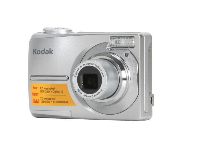 kodak easyshare c713 silver 7 0 mp 3x optical zoom digital camera rh newegg com Kodak EasyShare C813 Software Kodak EasyShare C713 USB Cable