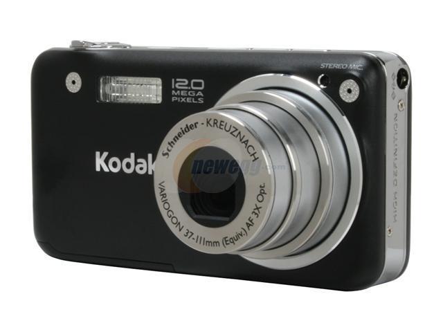kodak easyshare v1253 black 12 1 mp 3x optical zoom digital camera rh newegg com Kodak EasyShare C713 Kodak EasyShare C713