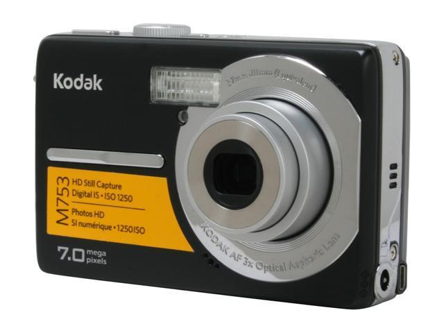 kodak easyshare m753 black 7 0 mp 3x optical zoom digital camera rh newegg com Kodak EasyShare C195 Instruction Manual Kodak EasyShare Z5010 Manual