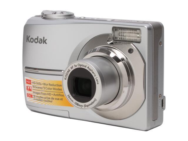 kodak easyshare c913 silver 9 2 mp 2 4 115k lcd 3x optical zoom rh newegg com
