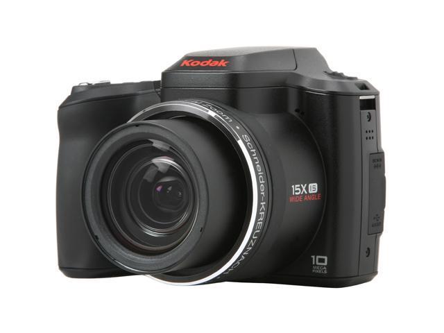 Kodak EasyShare Z1015 IS Black 10 MP 15X Optical Zoom 28mm Wide Angle  Digital Camera - Newegg com