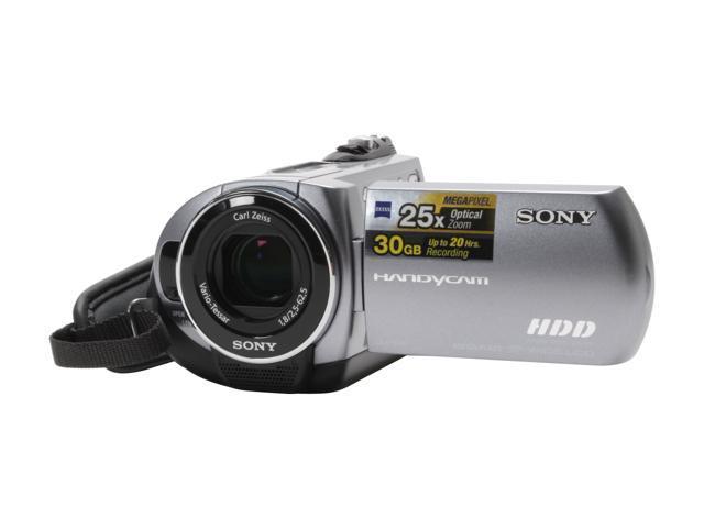 sony dcr sr62 1 6 ccd 2 7 123k lcd 25x optical zoom hdd flash rh newegg com sony handycam dcr-sr62 driver download sony handycam sr62 manual