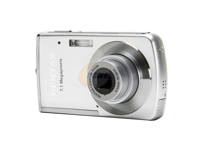 pentax optio m30 silver 7 1 mp 3x optical zoom digital camera rh newegg com Pentax 16MP Camera P3 Pentax Camera