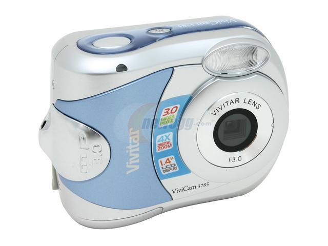 vivitar 3785 2 tone 3 mp vivicam digital camera newegg com rh newegg com