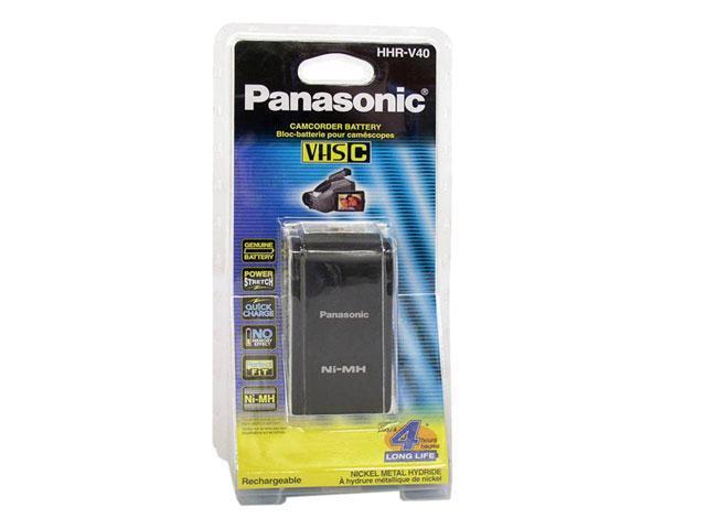 Panasonic Hhr V40a 1b Camcorder Battery For Vhs C Palmcorder Camcorder Newegg Com