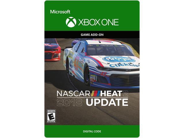 nascar heat 2 2018 season update xbox one digital code newegg com