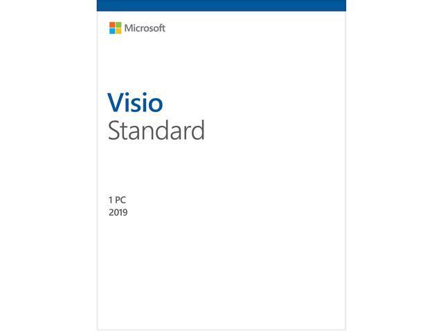 Microsoft Visio Standard 2019 / Windows 10 - Download - 1PC - Newegg com