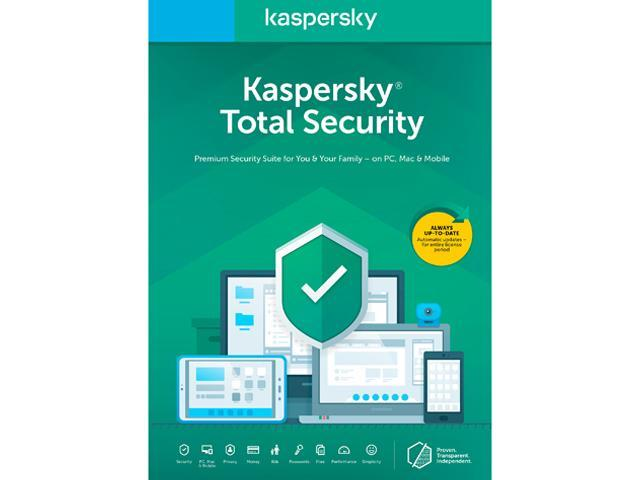 Kaspersky Total Security 2020   5 Devices / 1 Year (Key Card) by Kaspersky Lab