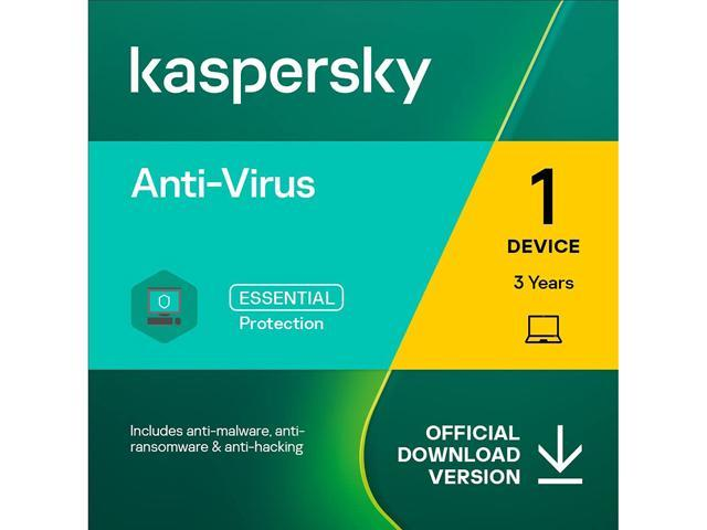 Kaspersky Anti-Virus 3 Device 2020 - Download