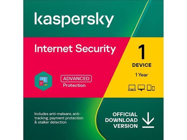 Kaspersky Internet Security 1 Device 2020 - Download