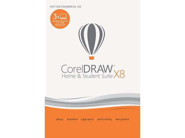 Corel Coreldraw Home Student Suite X8 Download Newegg Com