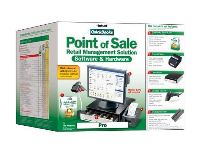 Intuit QuickBooks Point of Sale Pro V7 0 with Hardware Software - Newegg com